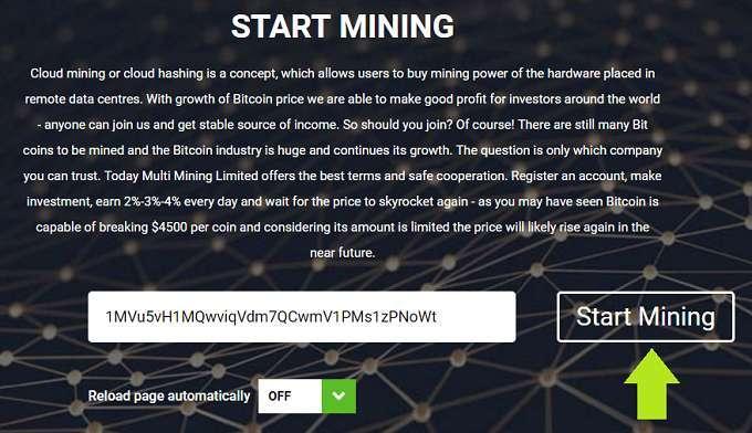 Đào Bitcoin miễn phí đơn giản nhất không thể bỏ qua?