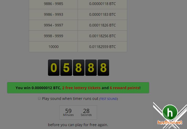 Cách kiếm Bitcoin miễn phí hàng giờ trên Freebitcoin uy tín nhất? 3