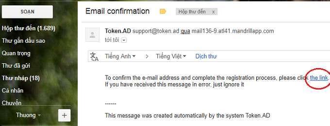 Cách kiếm tiền với mạng quảng cáo Token thanh toán bằng Bitcoin 4