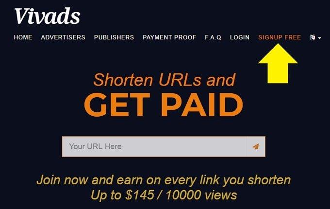 Mạng rút gọn link kiếm tiền cao nhất, thanh toán tối thiểu 4USD 2