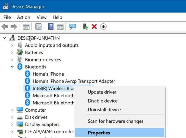 Cách kiểm tra phiên bản Bluetooth được cài đặt trong Windows 10 2