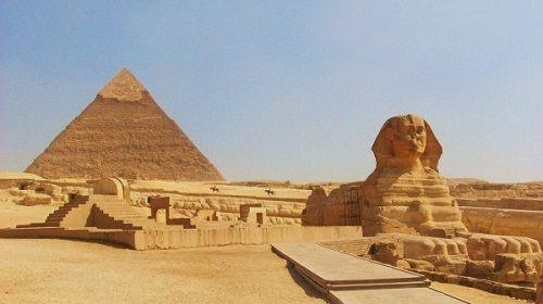 Khu vực kỳ bí kim tự tháp ai cập