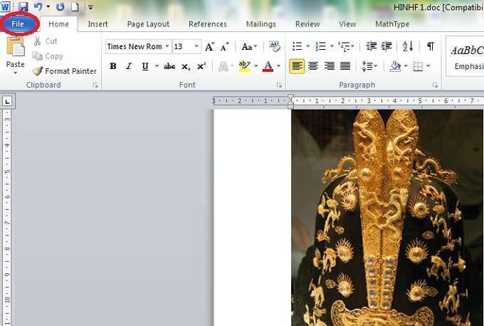 lấy toàn bộ hình ảnh trong File Word một cách nhanh chóng