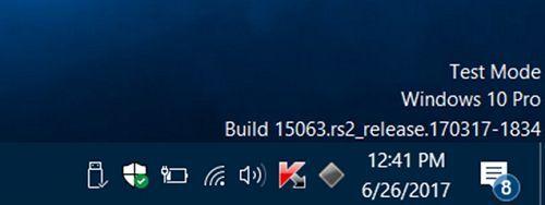 Cách loại bỏ dòng Test Mode Watermark trong Windows 10 2
