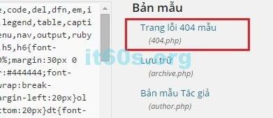 tự động gửi Email khi có lỗi 404 trong WordPress