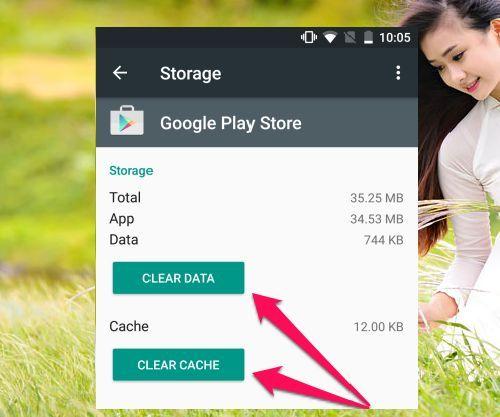 khắc phục lỗi 963 trên Google Play Store trong Android