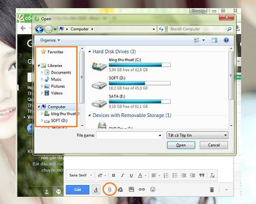 sửa lỗi mất biểu tượng Desktop khi gửi Mail trên Windows