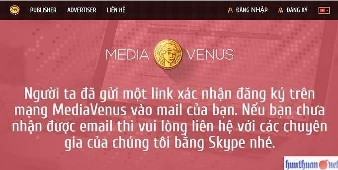 MediaVenus mạng quảng cáo Native sự lựa chọn tốt nhất cho kiếm tiền 4