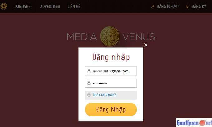 MediaVenus mạng quảng cáo Native sự lựa chọn tốt nhất cho kiếm tiền 7