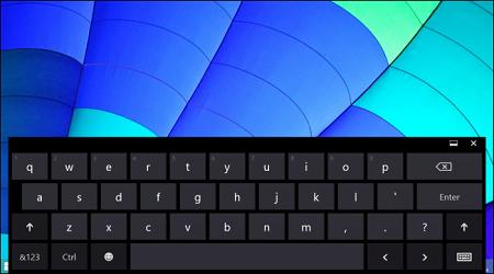 cách mở bàn phím ảo trên Windows 10