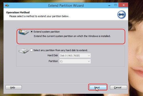 Cách mở rộng phân vùng hệ thống trong Windows 10 đơn giản 3