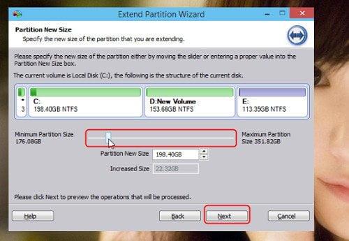 Cách mở rộng phân vùng hệ thống trong Windows 10 đơn giản 5