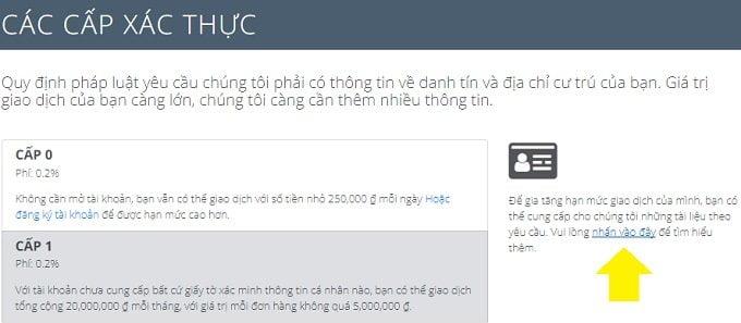 Cách mua và bán Bitcoin và một số tiền ảo khác uy tín tại Việt Nam 11