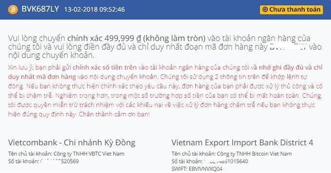 Cách mua và bán Bitcoin và một số tiền ảo khác uy tín tại Việt Nam 6