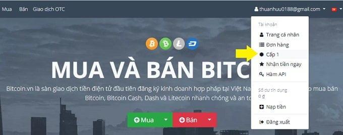 Cách mua và bán Bitcoin và một số tiền ảo khác uy tín tại Việt Nam 10