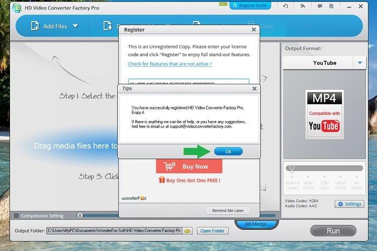 Độc quyền miễn phí phần mềm WonderFox HD Video Converter Factory Pro 11