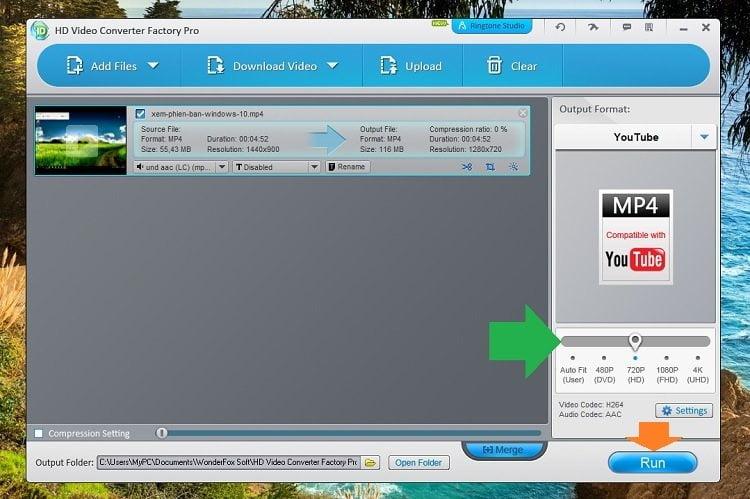 Độc quyền miễn phí phần mềm WonderFox HD Video Converter Factory Pro 14