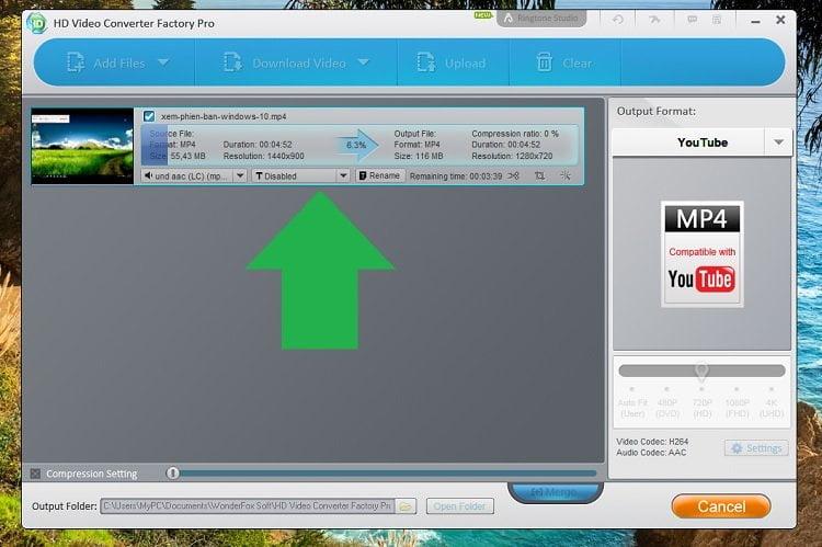 Độc quyền miễn phí phần mềm WonderFox HD Video Converter Factory Pro 15