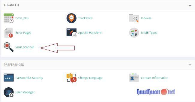 công cụ tìm kiếm mã độc từ hosting cPanel