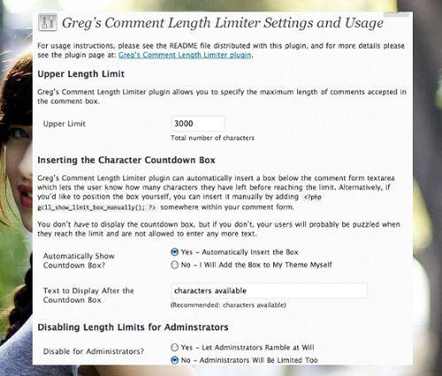 hạn chế spam bình luận bằng cách quy định độ dài comment