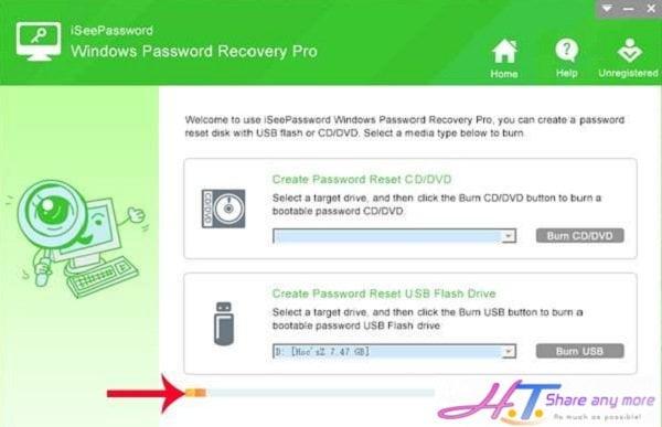 Cách tạo USB Reset mật khẩu Windows chỉ với một Click nhanh chóng 4