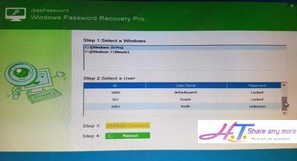 Cách tạo USB Reset mật khẩu Windows chỉ với một Click nhanh chóng 7