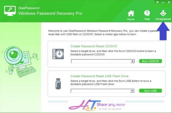 Cách tạo USB Reset mật khẩu Windows chỉ với một Click nhanh chóng
