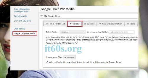 Giải pháp thay thế cho các trang Web có dung lượng hosting nhỏ 11