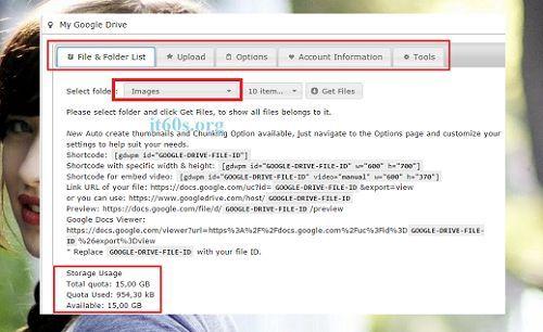 Giải pháp thay thế cho các trang Web có dung lượng hosting nhỏ 10