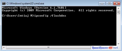 """Cách khắc phục lỗi """"DNS Server not responding"""" trên windows 1"""