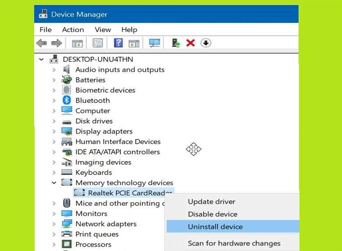 Cách sửa lỗi thẻ SD không hiển thị trong Windows Explorer 3