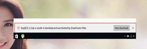 Cách tải tập tin bị chặn trên trình duyệt Microsoft Edge