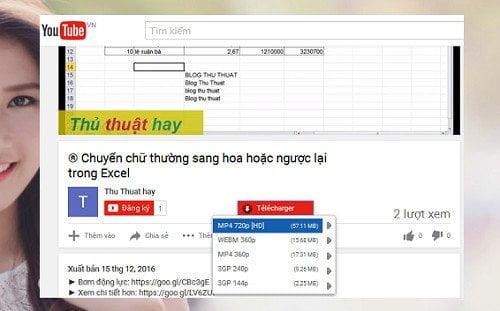 Cách tải mọi video trên youtube bằng trình duyệt Firefox 1
