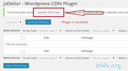 Tăng tốc độ trang web của bạn bằng Plugin CDN jsDelivr