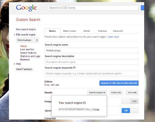 Cách tích hợp công cụ tìm kiếm Google trong Wordpress 2