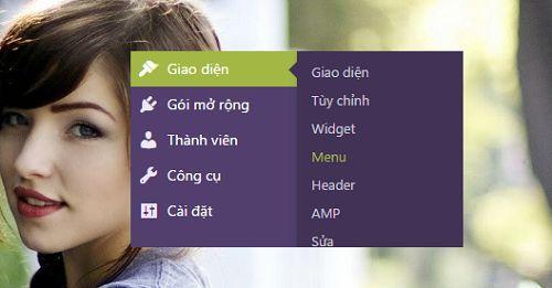 cách cài đặt hiển thị Menu trên WordPress đơn giản