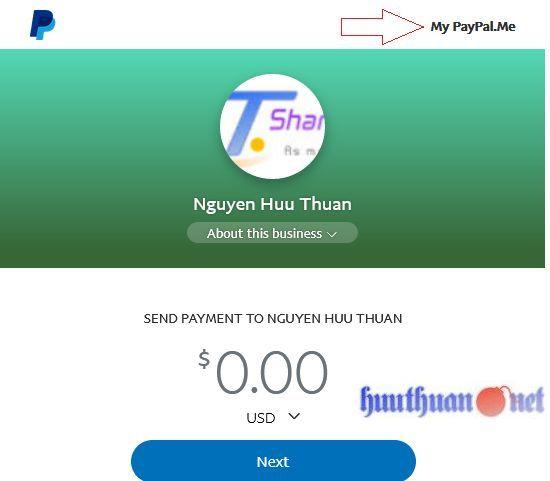 Cách tạo tính năng quyên góp từ Paypal cho trang Web