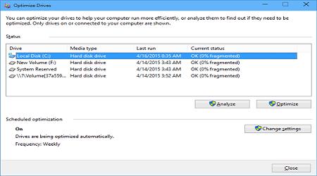 Tạo shortcode chống phân mảnh và tối ưu trên windows 10