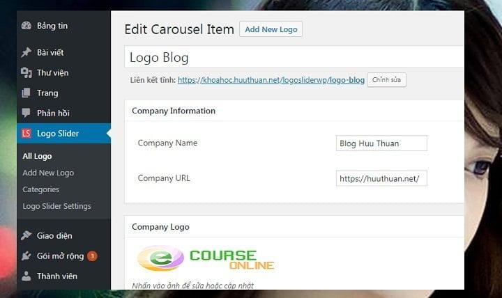 Cách hiển thị Slide Logo của các đối tác trên Wordpress đơn giản 3