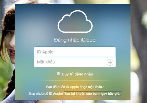 tạo tài khoản Icloud và đồng bộ dữ liệu Iphone lên Cloud
