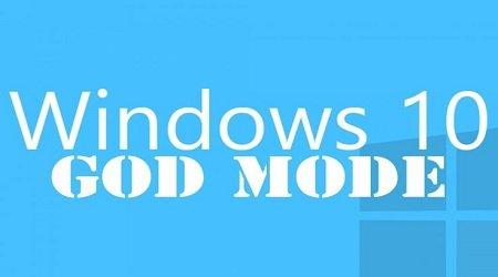 """Cách tạo thư mục huyền thoại """"GodMode"""" trong windows 10"""