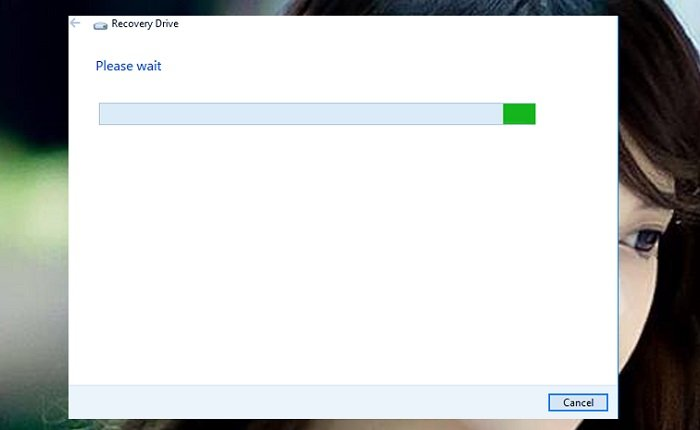 Cách tạo USB Recovery phục hồi hệ thống cho windows 10 2