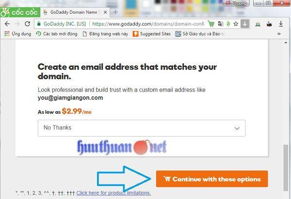 Cách đăng ký tên miền từ nhà cung cấp Godaddy đơn giản 4