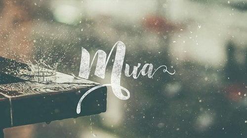 Thơ tình yêu: Tháng 9 nỗi niềm của mưa