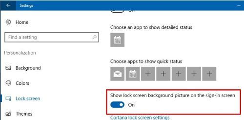Cách thay đổi màn hình đăng nhập trên windows 10 2