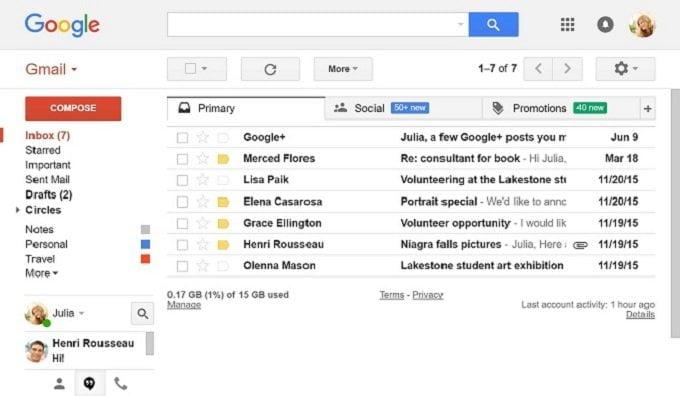 Những thủ thuật để không bỏ lọt tin quan trọng trong Gmail 2