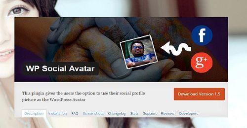Sử dụng Avatar của các trang mạng xã hội trong WordPress