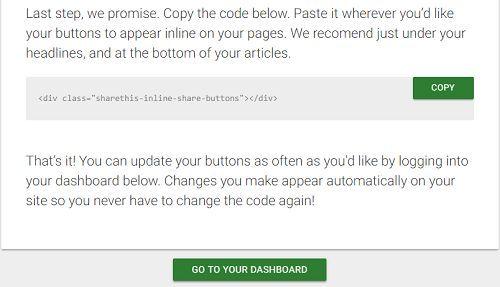 Cách chèn nút like mạng xã hội vào Wordpress không Plugin 3