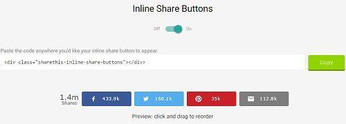 Cách chèn nút like mạng xã hội vào Wordpress không Plugin 5