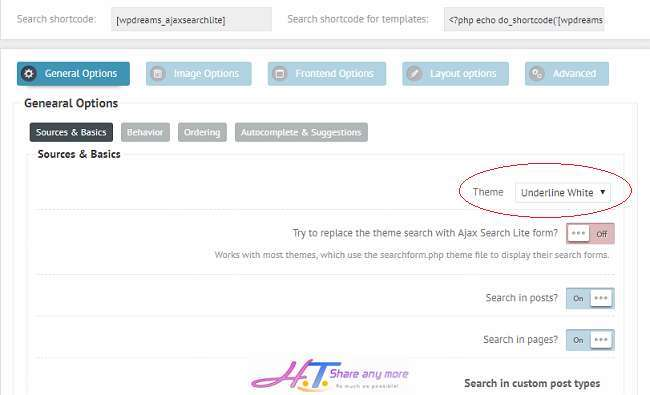 tích hợp tính năng hiển thị kết quả tìm kiếm tức thì trong WordPress